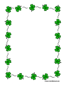 saint patrick s day coloring pages writing paper activity