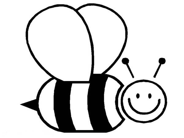 bumblebee big fat bumblebee flying around coloring page