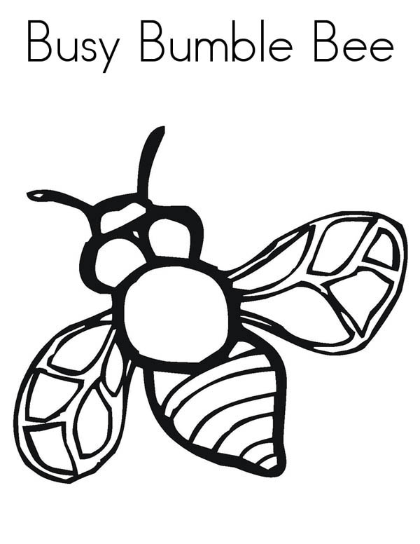 realistic image of busy bumblebee coloring page download amp print