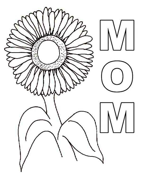 lovely sunflower coloring page download amp print online coloring