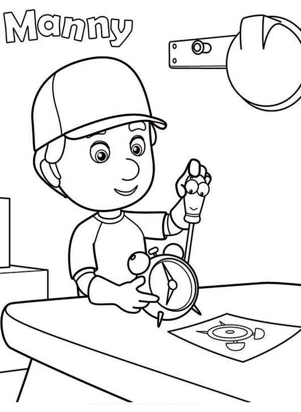 Handy Manny Coloring Pages. handy manny free coloring pages ...