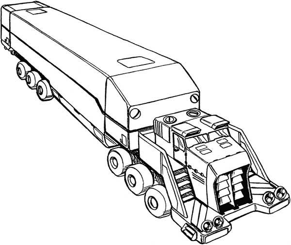 awesome picture of semi truck coloring page download amp print