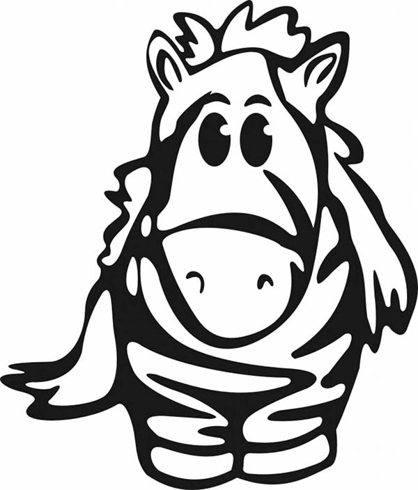 cute baby zebra coloring page download amp print online coloring