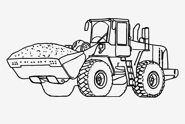 heavy tractor page download print online