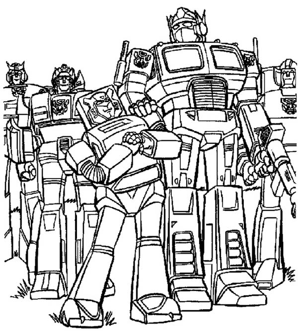 Bumblebee Transformers Coloring Pages - Coloring Home | 667x600