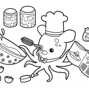 Octonaut Coloring Pages To Print Octonauts Print Outs To Colour In