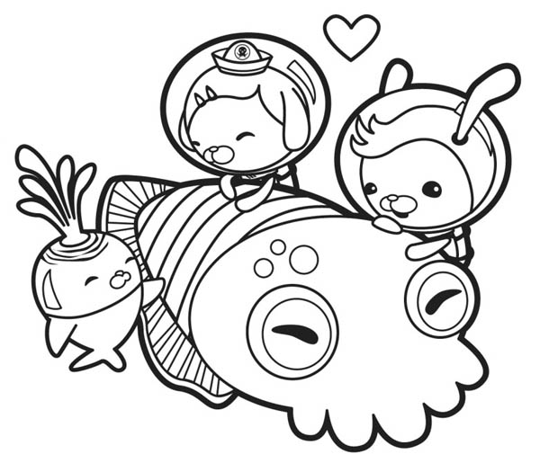 octonauts coloring pages printable cooloring com