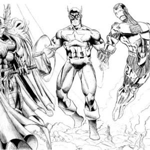Kleurplaten Avengers Assemble.Avengers Iron Man Coloring Pages The Avengers Iron Man Coloring
