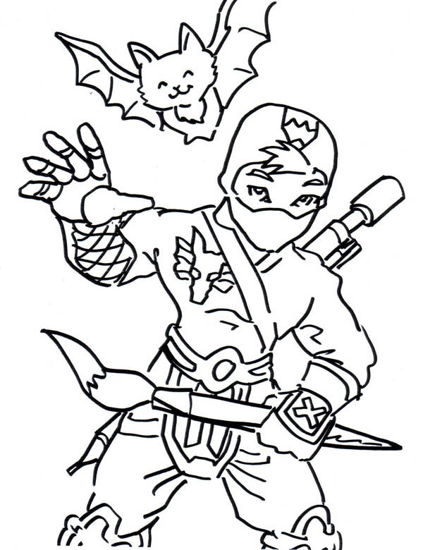 cute ninjas colouring pages page 2