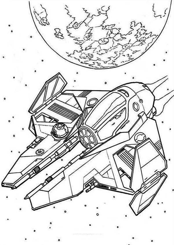 Star Wars Spaceships Coloring Page Download Amp Print