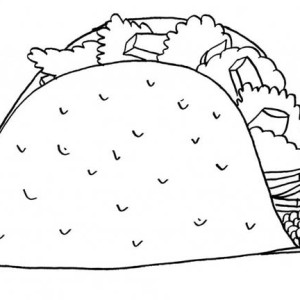 taco bell coloring pages mexican food coloring pages coloring
