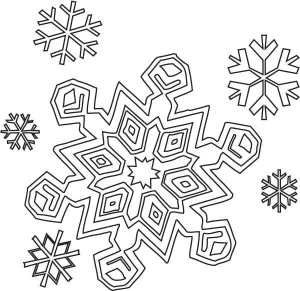 free printable coloring pages of snowflakes cooloring com