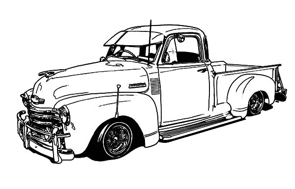 old muscle car coloring sheet coloring pages