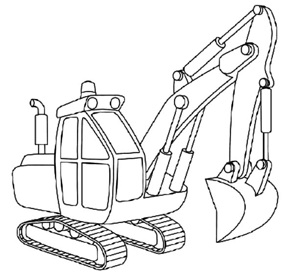 to draw excavator coloring pages download amp print online coloring