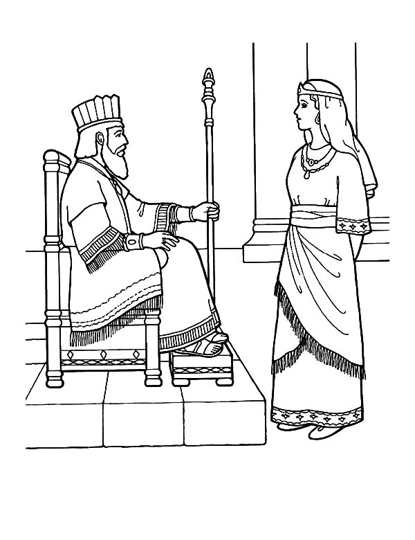 esther coloring page esther worksheet bible story coloring pages for queen