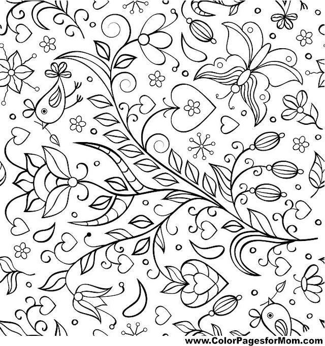 birds 17 coloring page