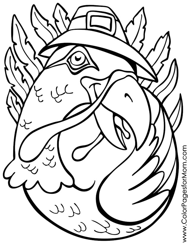 thanksgiving coloring page 14