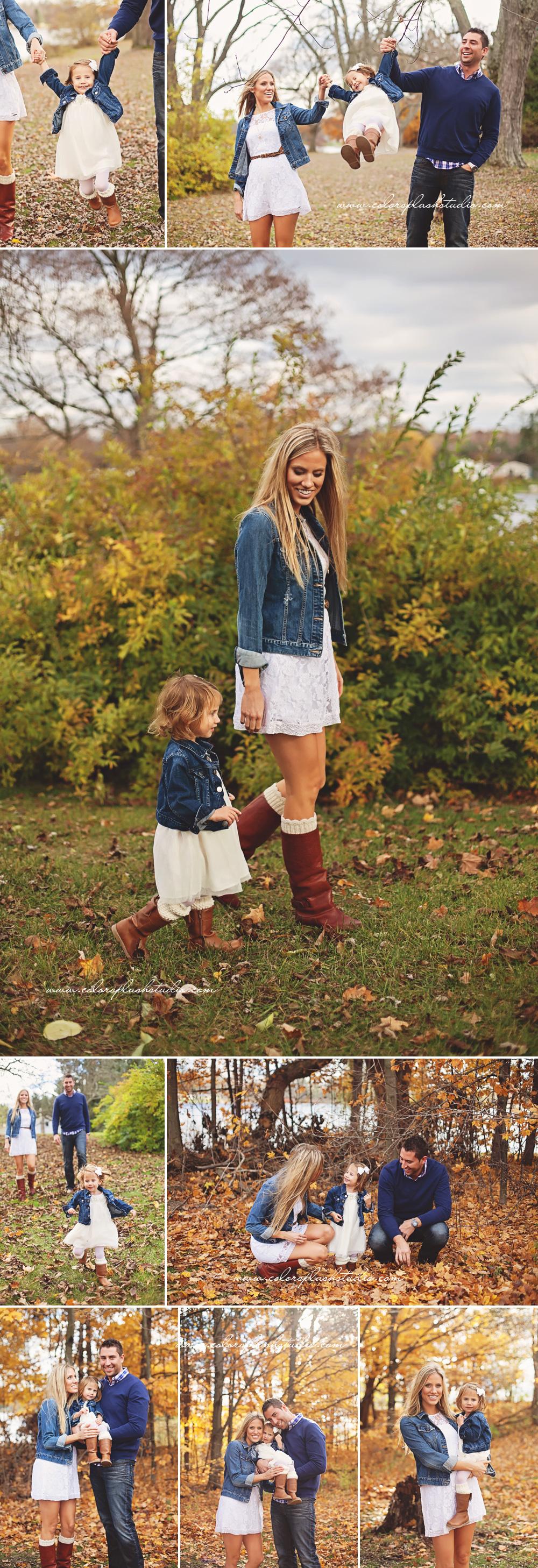 Byers Family Fall Photos Kalamazoo Family Photographer