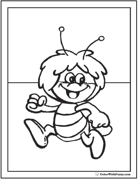 funny baby noises bumble bee coloring page baby rapunzel coloring