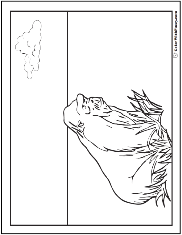 Gorilla coloring pages print and customize, i love my daddy coloring pages