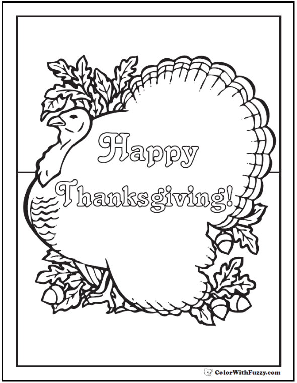 see fuzzy s happy thanksgiving coloring sheet here
