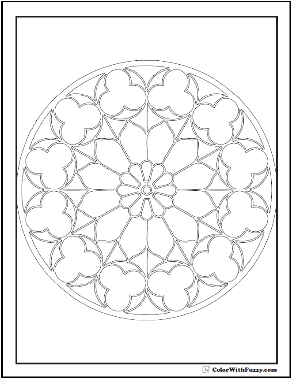 Kaleidoscope Coloring Pages To Print Rhggaawgeekabitcoza: Kaleidoscope Coloring Pages For Adults At Baymontmadison.com