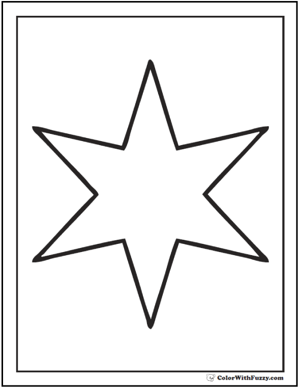 Star To Color. coloring pages shape star coloring pages 7 com ...
