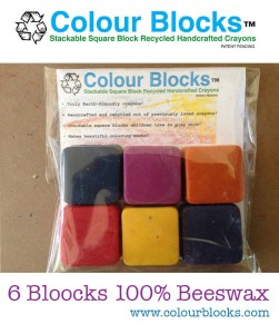 Square Crayons Safe for Kids, non toxic eco