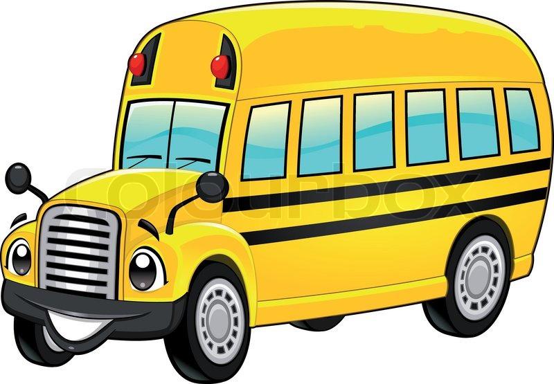 cartoon school bus clip art rh airfreshener club Cartoon School Bus Large School Bus Clip Art
