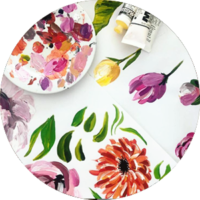 Colour Cult stock - buy graphics, paintings, seamless designs, patterns and more by Tegan Swyny