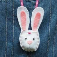 Make your own Bunny Pouch Necklace