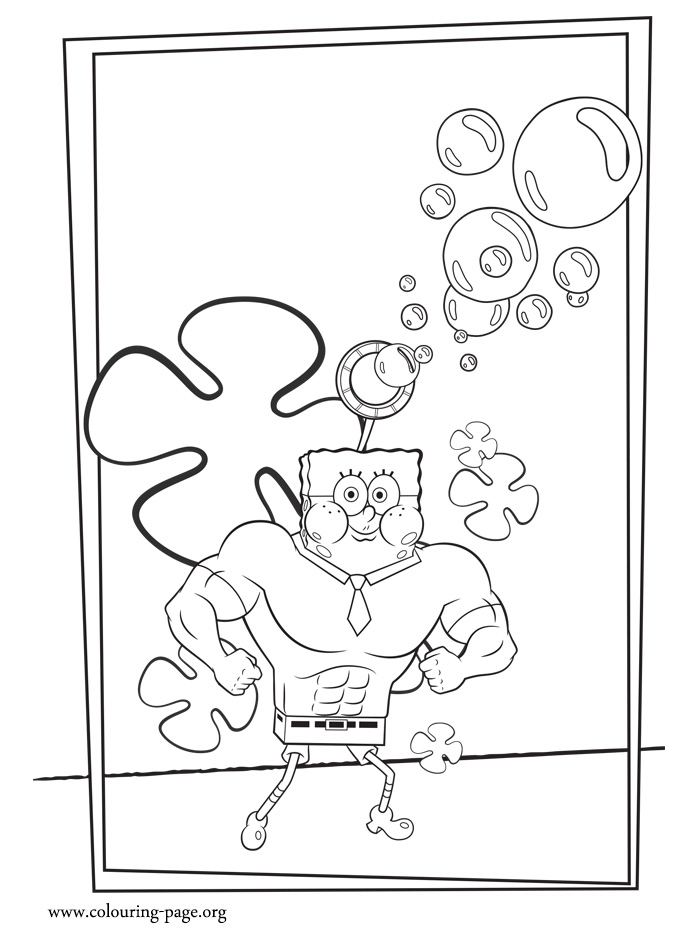 free coloring pages of dental sponge bob