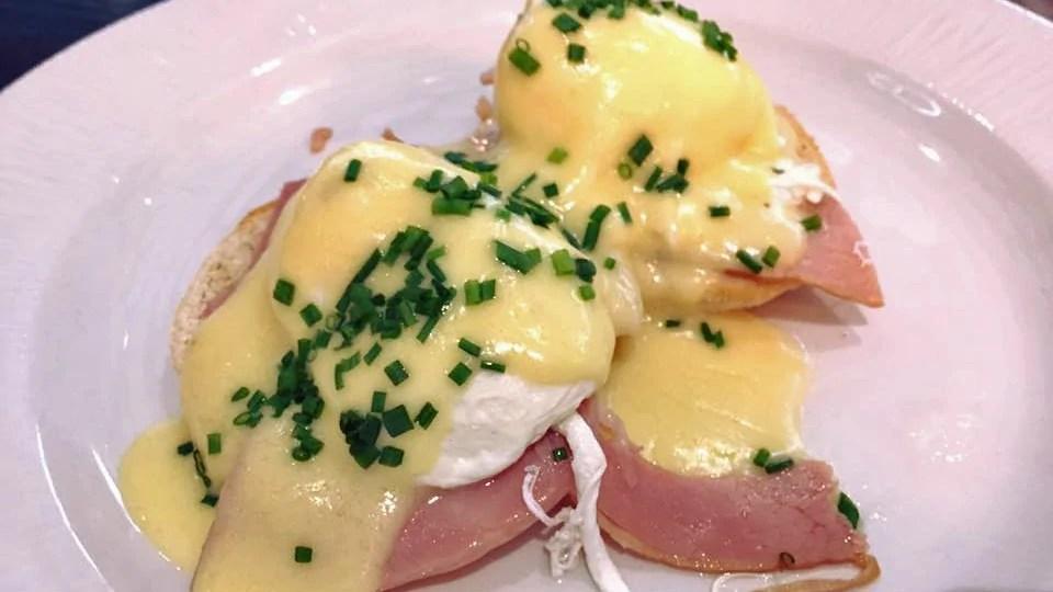 Eggs Benedict with Smoked Ham