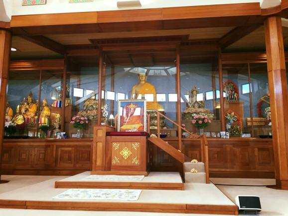 Buddhist Temple Interior 2