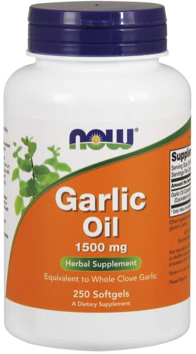 NOW Supplements Garlic Oil 1500 mg