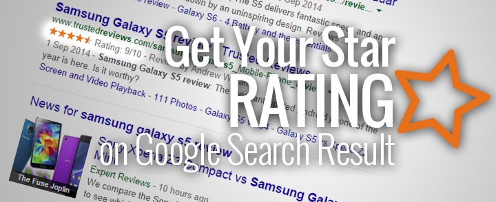 How Do I Show Star Rating on Google Search Result