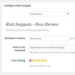 RichSnippet