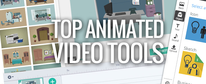 Top 5 Animated Content and Video Creation Tools