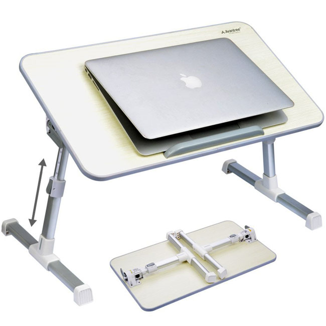Avantree Quality Adjustable Laptop Bed Tray