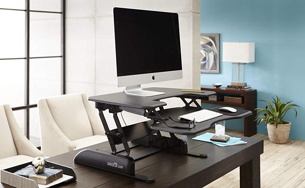 Height Adjustable Riser for Work Desk