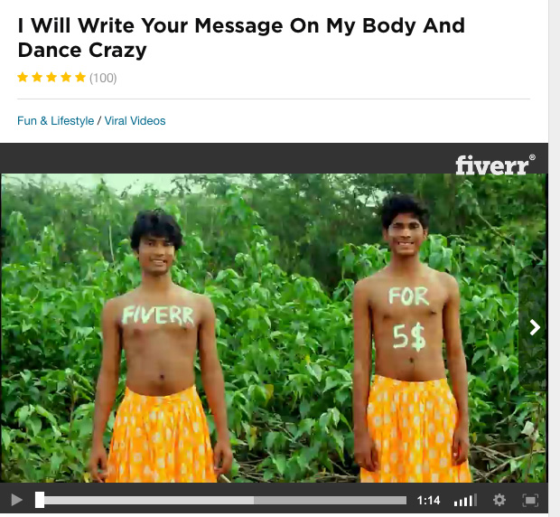 Body Message Crazy Dancing