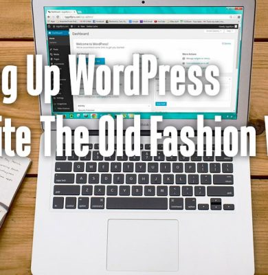 WordPressWebsiteOldFashion