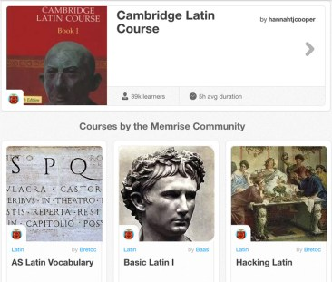 Memrise Latin