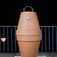 DIY Kamado Smoker & Grill - Make your own Green Egg BBQ from Flowerpots