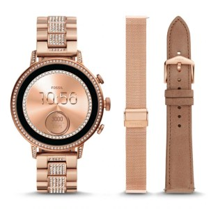 GEN 4 VENTURE HR ROSE GOLD-TONE STAINLESS STEEL INTERCHANGEABLE STRAP BOX SET