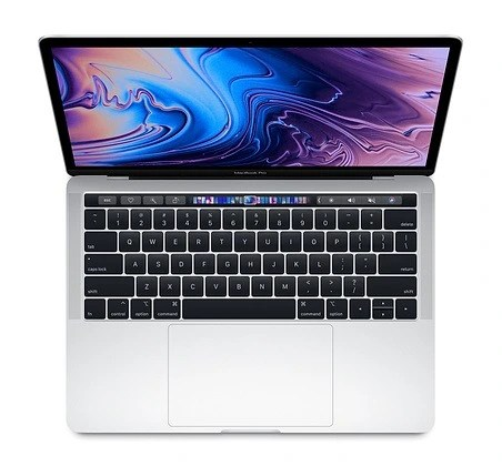 2018 mbp13 touch silver