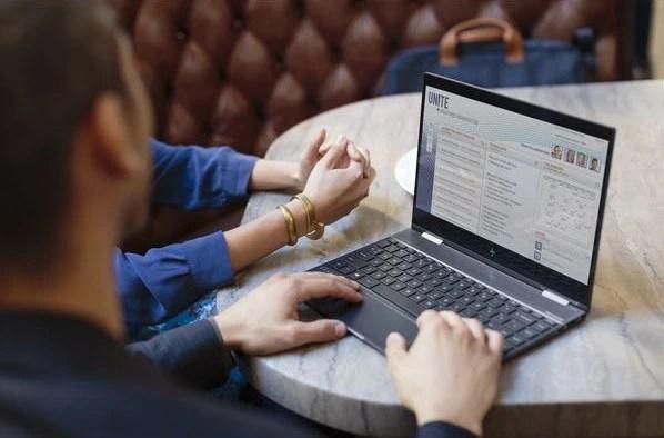 HP ENVY x360 13 laptop mode