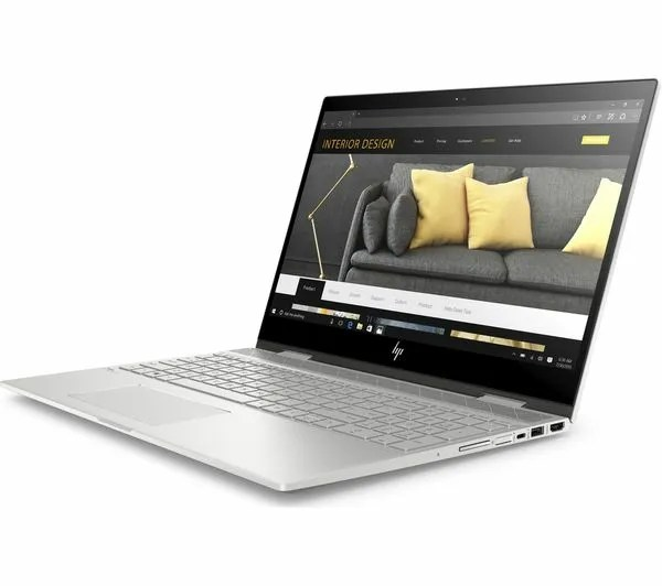 HP Envy x360 156 aspect view