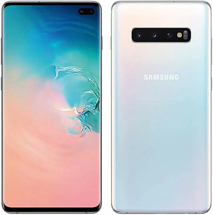 Samsung Galaxy S10 Plus Front and Back