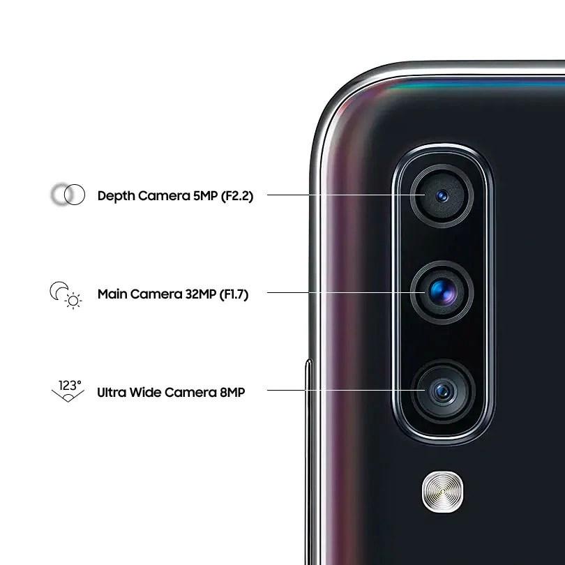 Samsung Galaxy A70 cameras